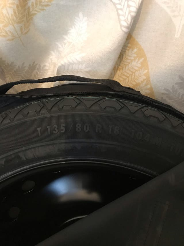 "SPARE WHEEL 18"" BMW F10"