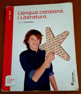 Llibre de text 1ESO Llengua catalana i literatura