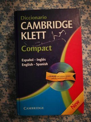 Diccionario Cambridge Klett Compact Ingles