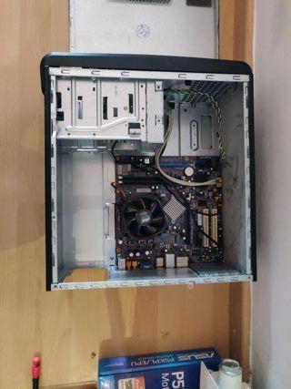 Placa Base + CPU + RAM + Caja
