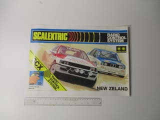 PÓSTER A3 42 x 29 cm SCALEXTRIC EXIN SLOT NUEVO