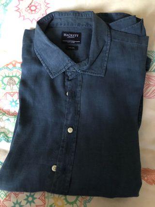 Camisa Hackett Grande 3XL lino