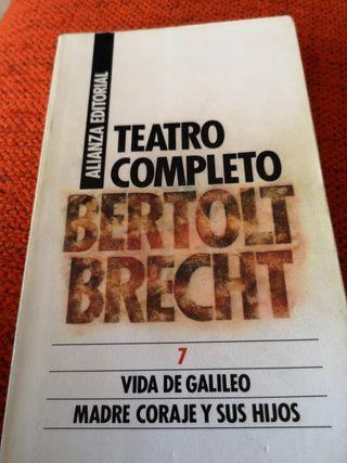 Libro titulado TEATRO COMPLETO.