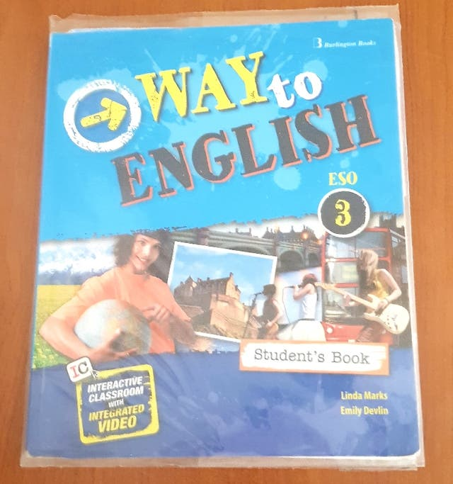 Student's book 3ESO WAY to ENGLISH