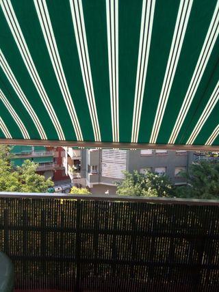 toldo de balcon
