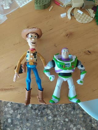 Woody y Buzz Mattel Toy Story 3 Disney