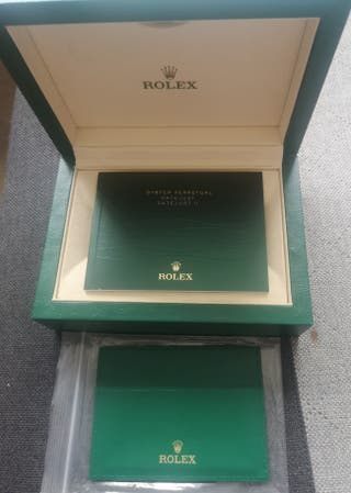Rolex Replacement box+ bag and booklet