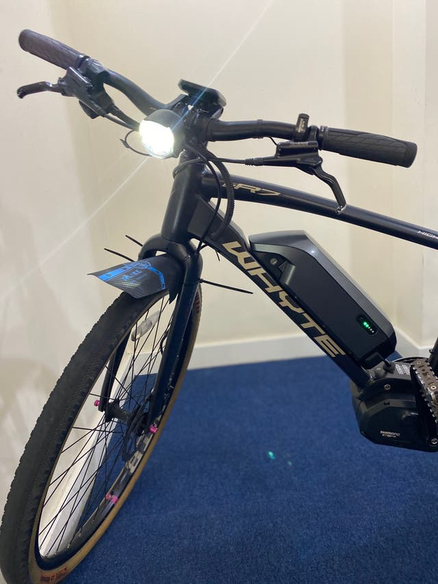 Whyte electric bicycle