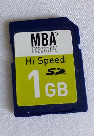 Tarjeta SD de memoria 1GB MBA EXECUTIVE