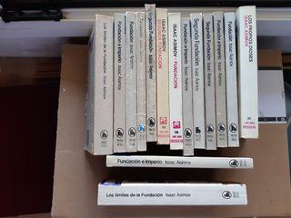 (T) Lote mas de 200 libros Asimov (parte 2)