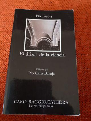 Libro titulado EL ÁRBOL DE LA CIENCIA.