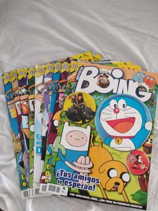 Revistas Boing 9 revistas / 3€