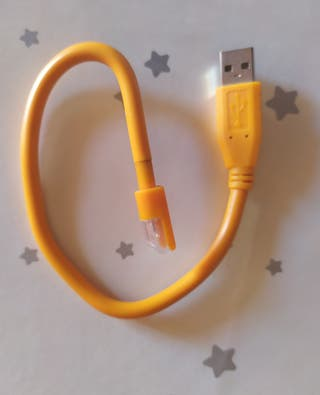 Linterna LED USB