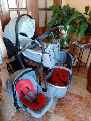 carro bebé Giordani Metropolitan 3 piezas