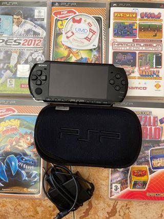 PSP y videojuegos