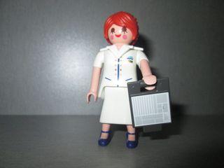 Playmobil. Azafata de Crucero.