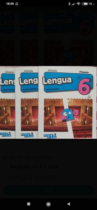 Lengua 6 Editorial Anaya.