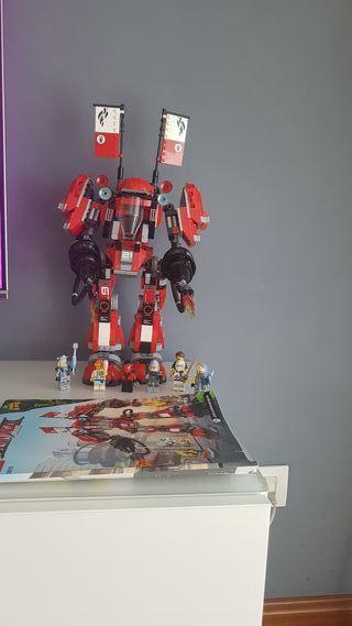 Robot Lego Ninjago movie