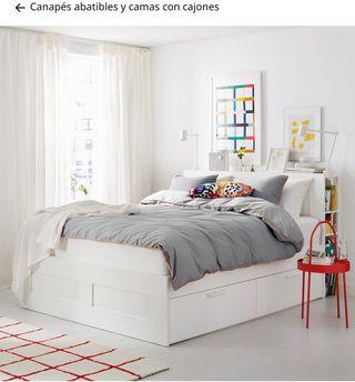Mueble de cama, cabecero, y cajoneras nuevo