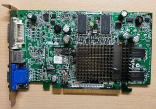 Tarjeta gráfica ASUS X300 256MB