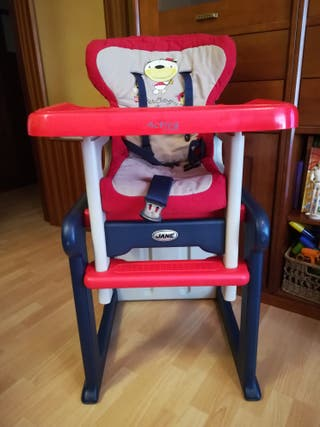 Trona evolutiva/ silla y mesa JANE