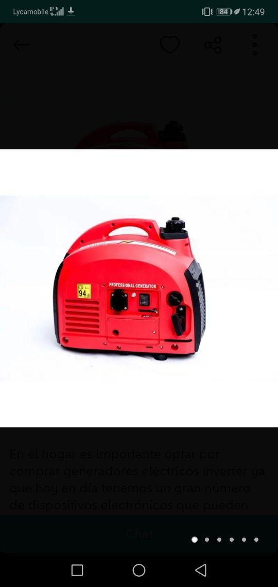 generador inverter 2000watts a estrenar