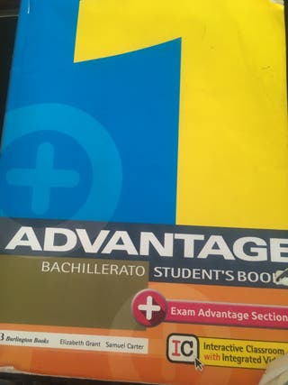 inglés Advantage 1 ISBN 9789963273676