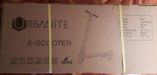 PATINETE ELECTRICO S-SCOOTER SBXZH6N