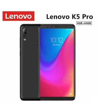 "LENOVO K5 PRO 4/64GB NEGRO GLOBAL 5.99"" PRECINTADO"