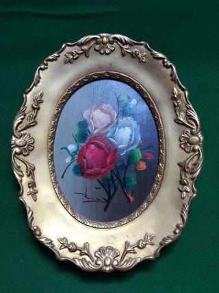 Cuadrito Vintage. DIMENSIONES: 25 x 20 cm Marco si