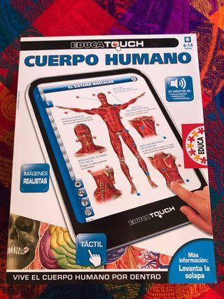 """Tablet El cuerpo humano """"EDUCA"""""""