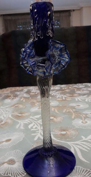 candelabro moderno de cristal