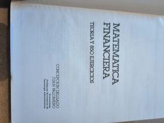 Libro matematica financiera