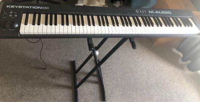 Keystation88 keyboard
