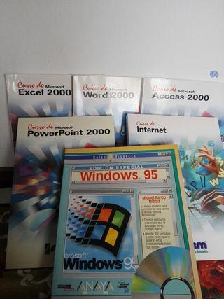 Libros antiguos informática