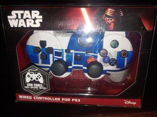 Mando/Pad STAR WARS Wired Controller PS3 ¡¡NUEVO!!