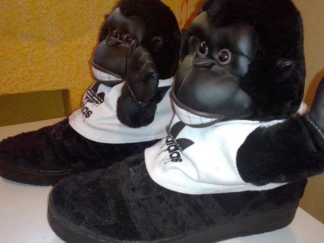 zapatillas Adidas Jeremy Scott gorila nuevas 43 13