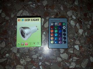 Bombilla led RGB 4W casquillo GU10