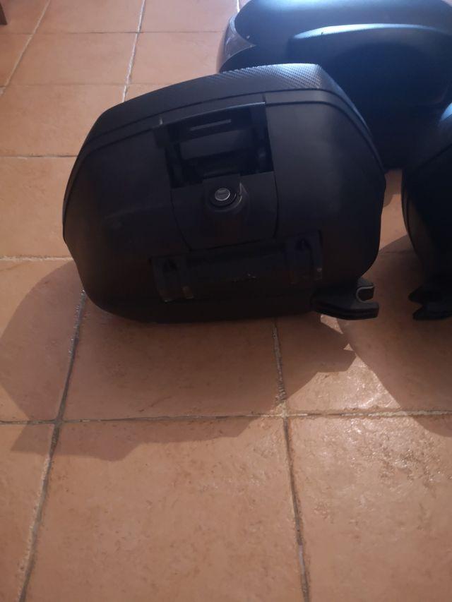 maletas moto shad + top case