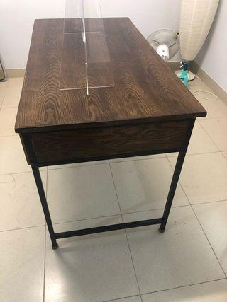 Mesa oficina/escritorio ordenador madera metal