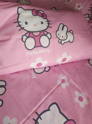 Funda nórdica niña Hello Kitty
