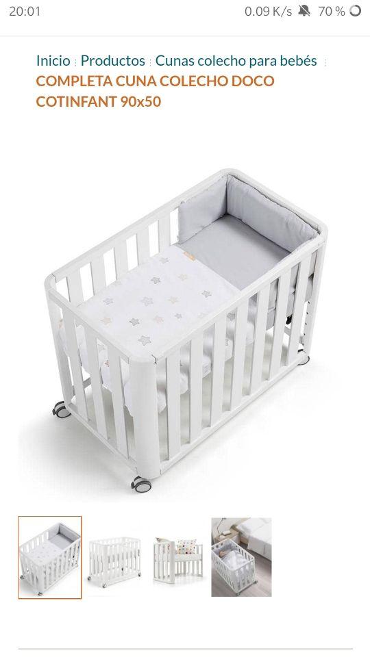 Cuna Doco Sleeping moisés sofá bebé