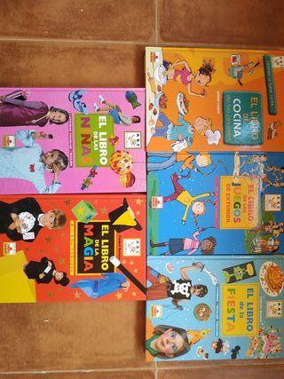 Libros educativos con actividades para niños