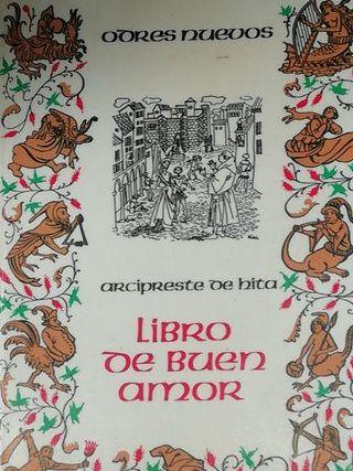 Libro de buen amor edición antigua de Castalia