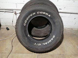 255/70 R15 108T M+S Cooper cobra