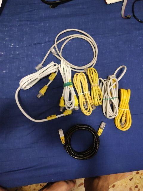 Pack cables de red (Ethernet)