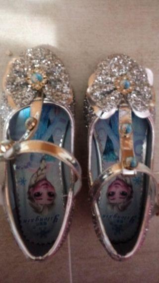 zapatos niña Frozen n 31