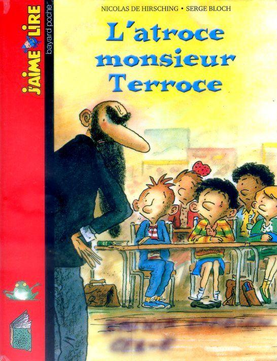 Libro / Livre L'atroce monsieur Terroce