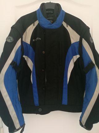 chaqueta de moto, mujer