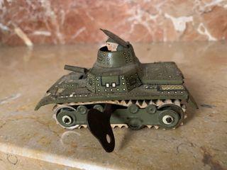 Juguete cuerda. 1960. Tanke panzer lV.